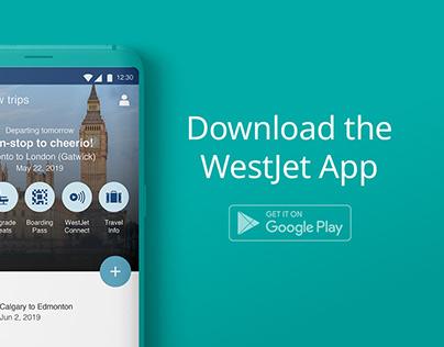 WestJet Android App