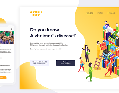 StoryPot - Road to Know Alzheimer's Disease