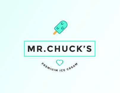 Mr.Chuck's Ice Cream Branding and Packaging Design