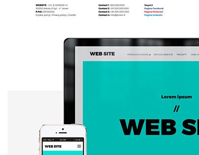 Web design concept #4