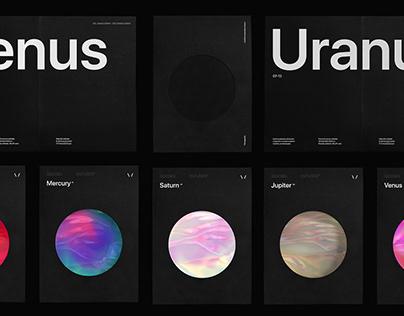 HoloH - Planet gradient