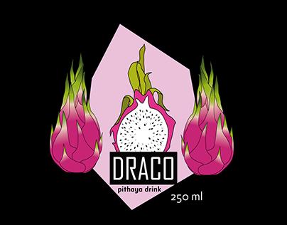 Package design for dragon fruit drink