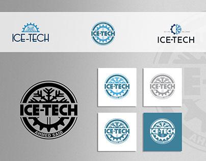 ice-tech logo design
