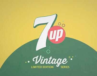 7up Vintage series Campain
