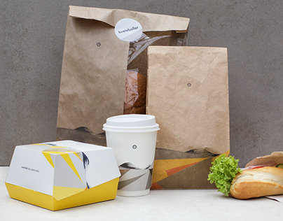 Food concept and packaging for Shell