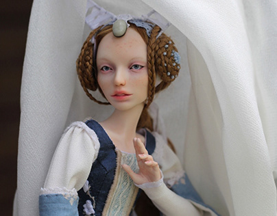 Medieval Ball Jointed doll