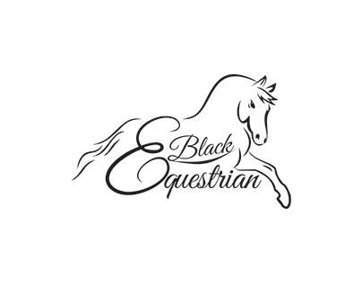black equestrian