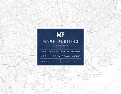 Mark Fleming Photography / Pitch Deck Design