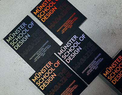 Münster School of Design the Magazine