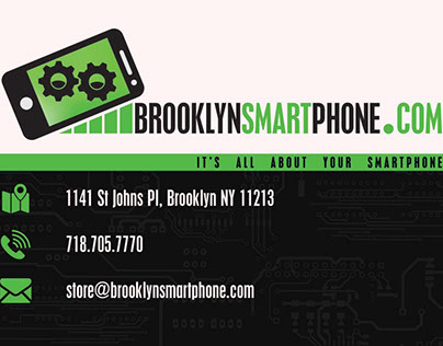 Brooklyn Smartphone | Logo and business card