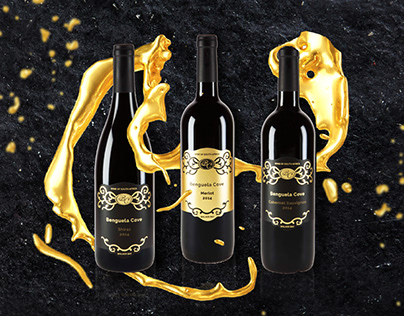 Benguela Cove wine label & packaging