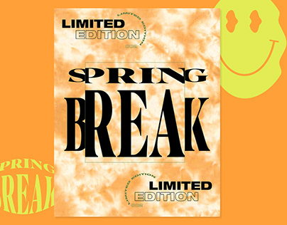 Visual Identity - SPING BREAK CAPSULE, GARAGE CLOTHING