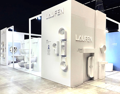 Laufen booth stand exhibition