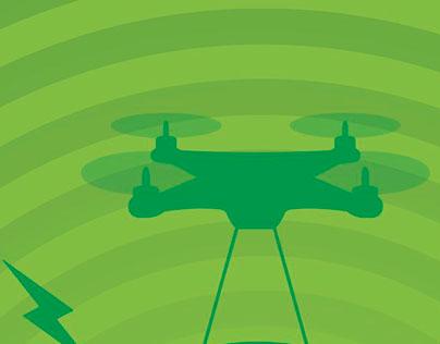 Ação Drone - Divulgação área de mídia Catraca Livre