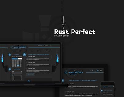 Web Design for a Game Server