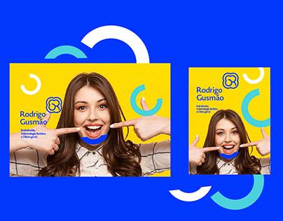 Rodrigo Gusmão Odontologia Branding Design