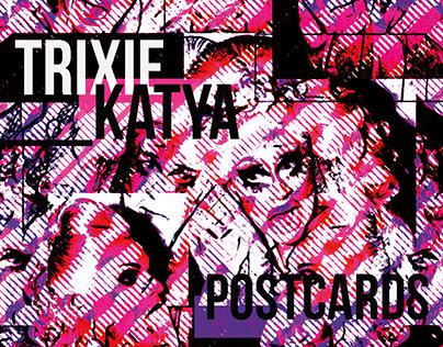 Trixie and Katya Postcards
