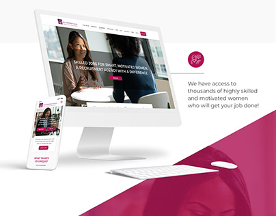RecruitMyMom - Website Design