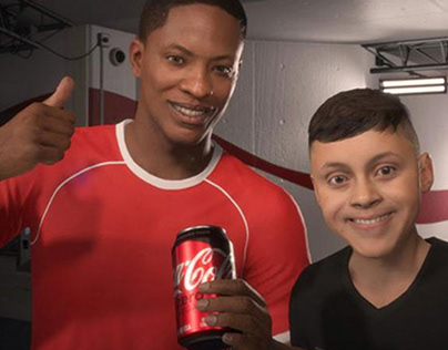 """UPLIFTED ALEX HUNTER"" (Coca-Cola / EA Sports)"