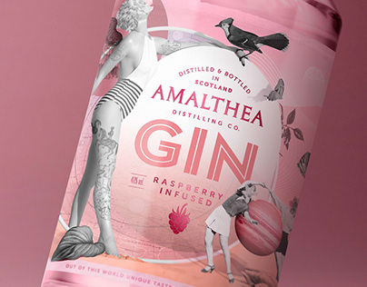 Out of this world pink GIN