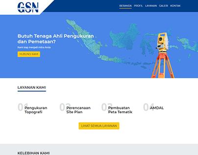 GSN Company Profile Website