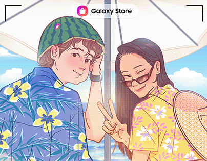 [July] Samsung Galaxy Store X our own night.