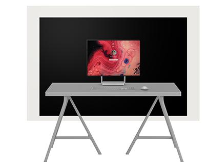 Windows 10 + Surface Studio UI Concept