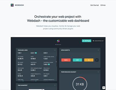 Webdash | Branding, Website & App