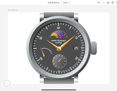 Watch Illustrator on iPad