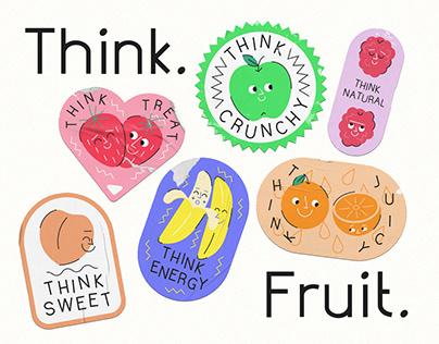Think. Fruit. - Public Health Campaign