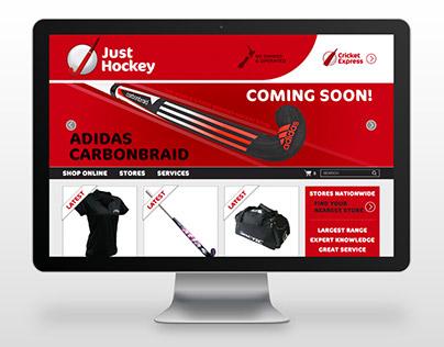 Just Hockey - Branding, logo, print and web design