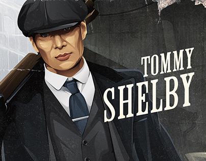 Tommy Shelby - Illustration