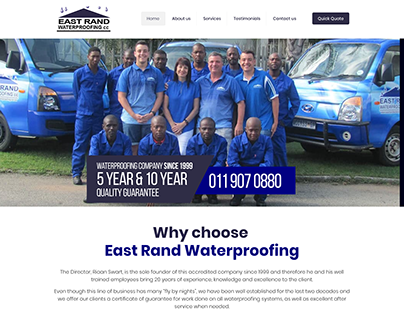 East Rand Waterproofing