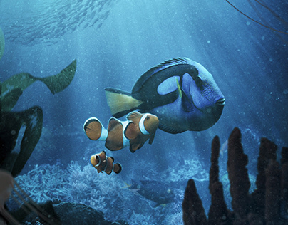 Finding Nemo - compositing