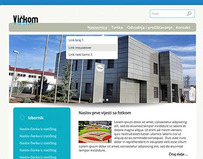 Virkom.hr - WordPress
