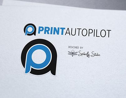 Print AutoPilot Logo Design