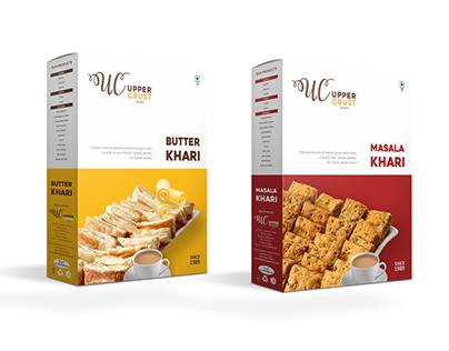 Upper Crust - Snacks Packaging