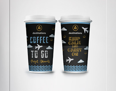 Destinations -CoffeeToGo- -Product Label