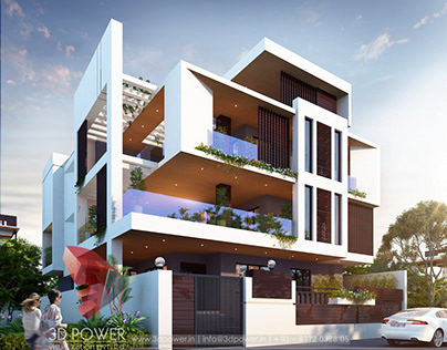Modern House Designed by #3DPower.