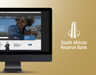 SA Reserve Bank Website Design Concept