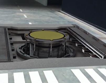 Metal Door - 3D Model and Compositing