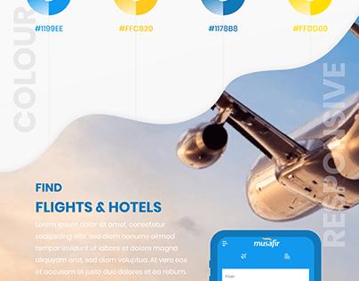 Ticket Booking App: Musafir App
