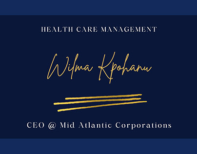 Wilma Kpohanu   Healthcare Management