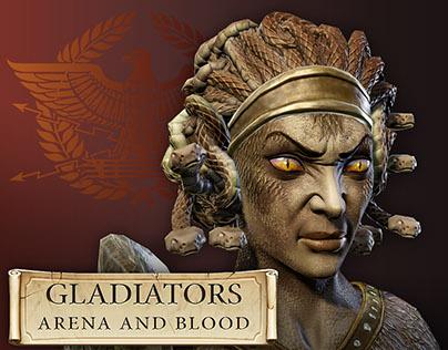 3D-Models from 'Gladiators 3D' (Jun 2013 - Jan 2014)