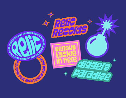 Relic Records — Sticker Pack