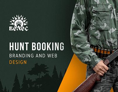 Veles   Hunt Booking Branding and Web
