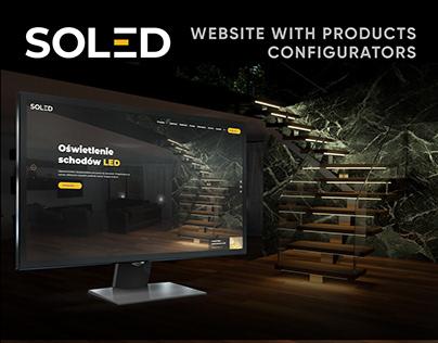 SOLED.PL Web design & 3D Architectual Visualisations