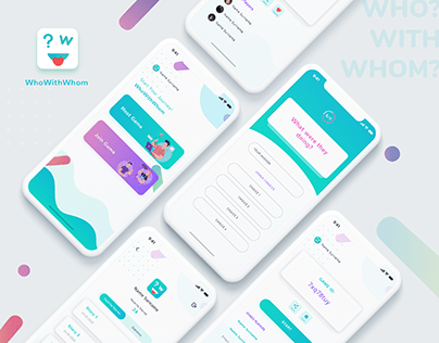 "Mobile Application Design For ""WhoWithWhom"""