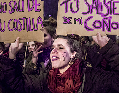 8M Spanish feminist strike