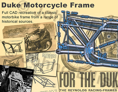 Duke Motorcycle Frame